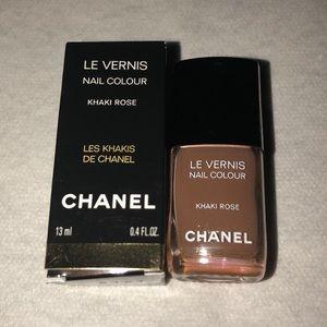 Chanel Nail Colour Khaki Rose